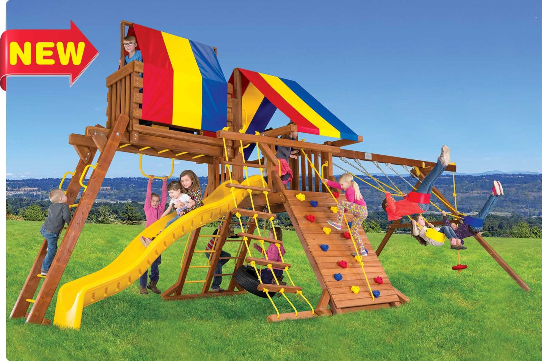 Circus Turbo Castle Pkg IV Outdoor Playset