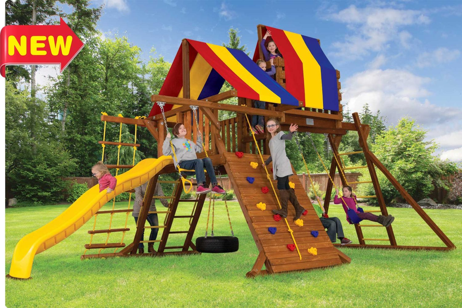 Circus Turbo Castle Outdoor Playsets