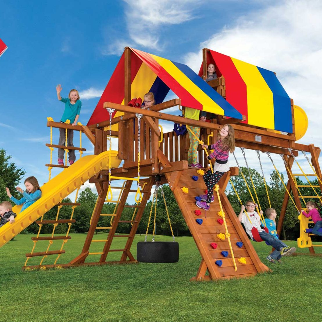 Sunshine Super Turbo Castle Outdoor Playsets