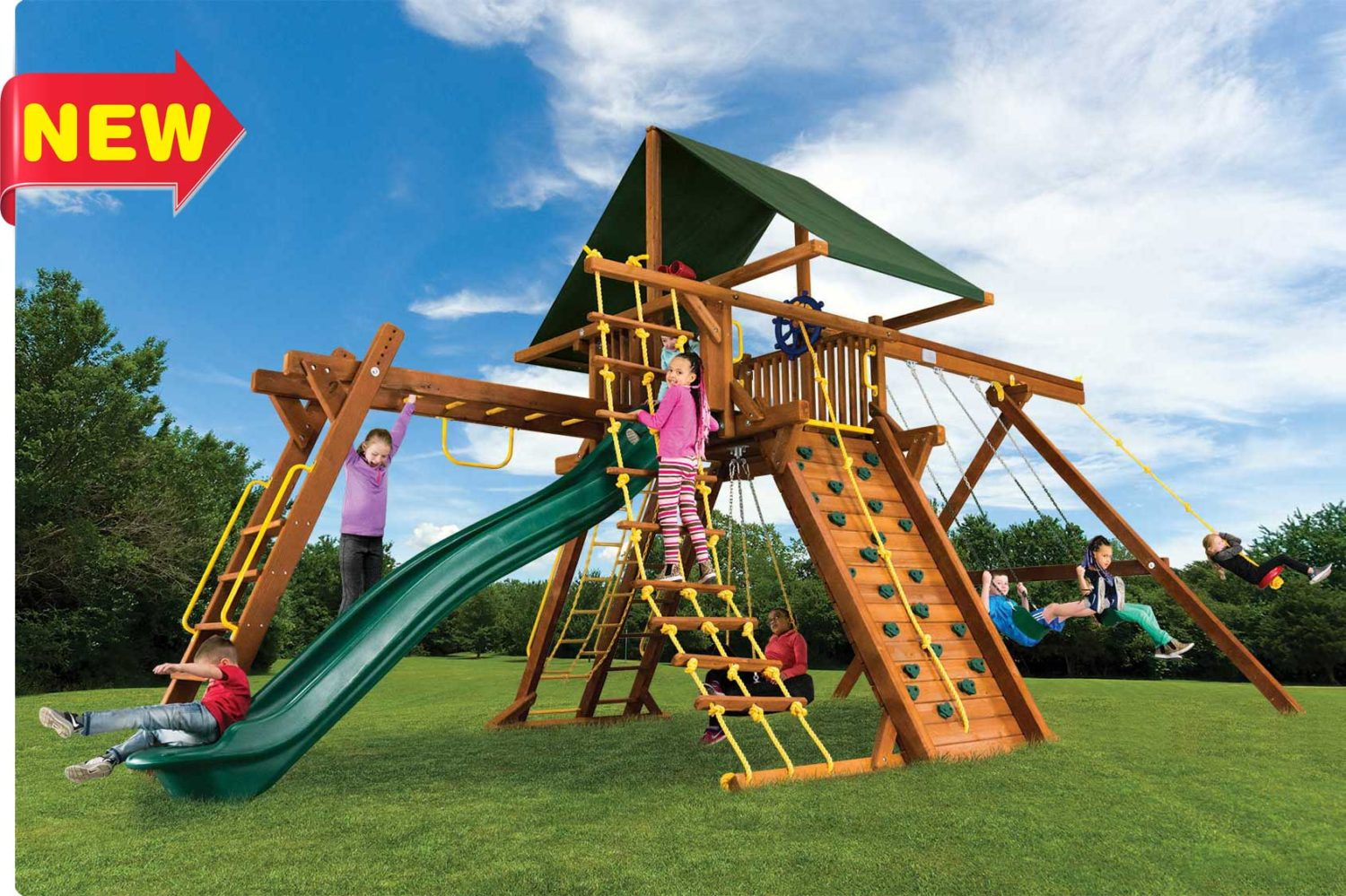 King Kong Castle Pkg III Outdoor Playsets