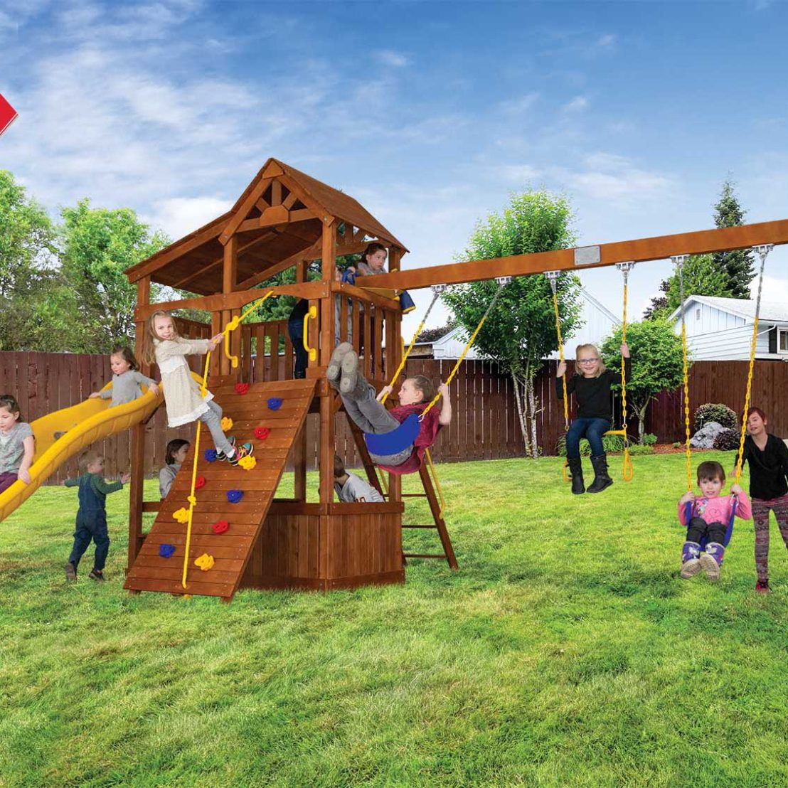 Fiesta Cottage Outdoor Playsets