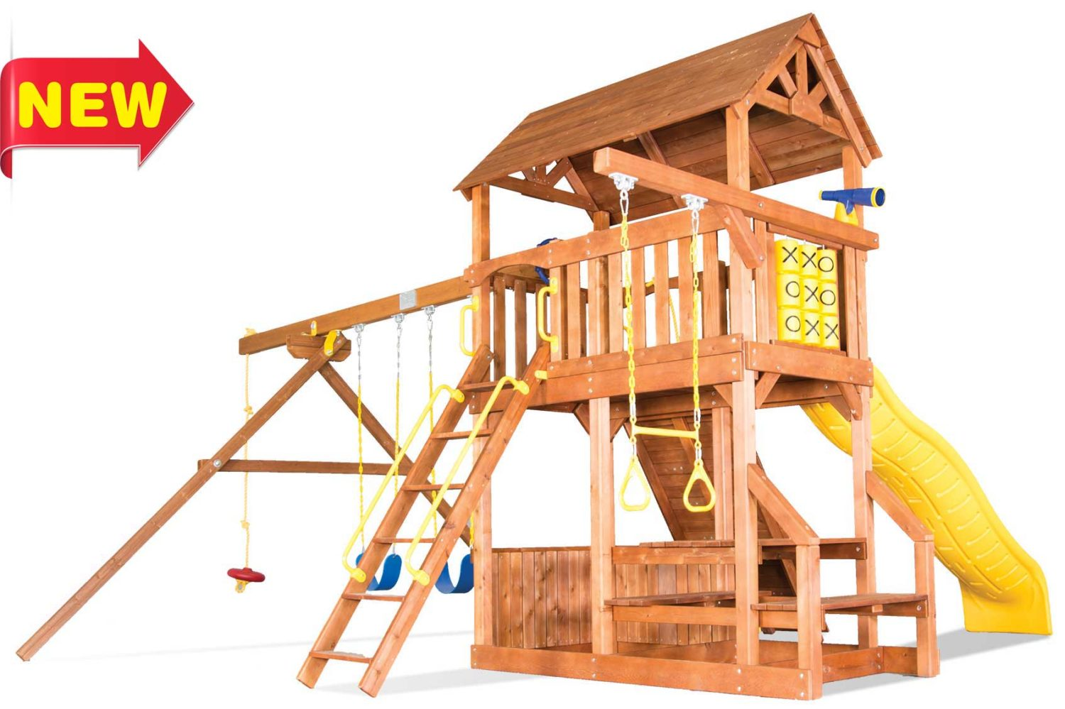 Fiesta Country Club Wooden Swing Sets