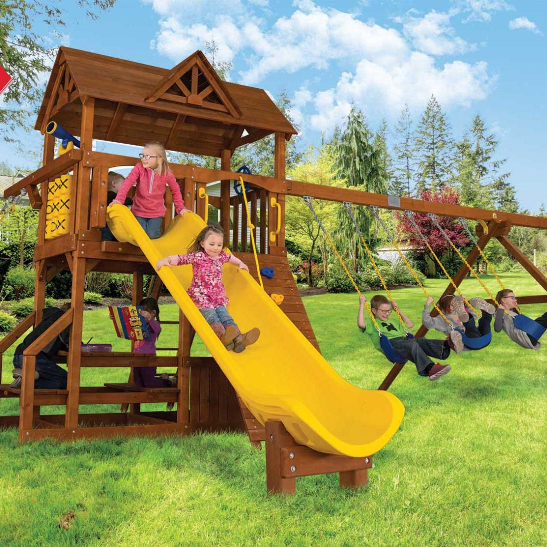 Fiesta Country Club Deluxe Outdoor Playsets