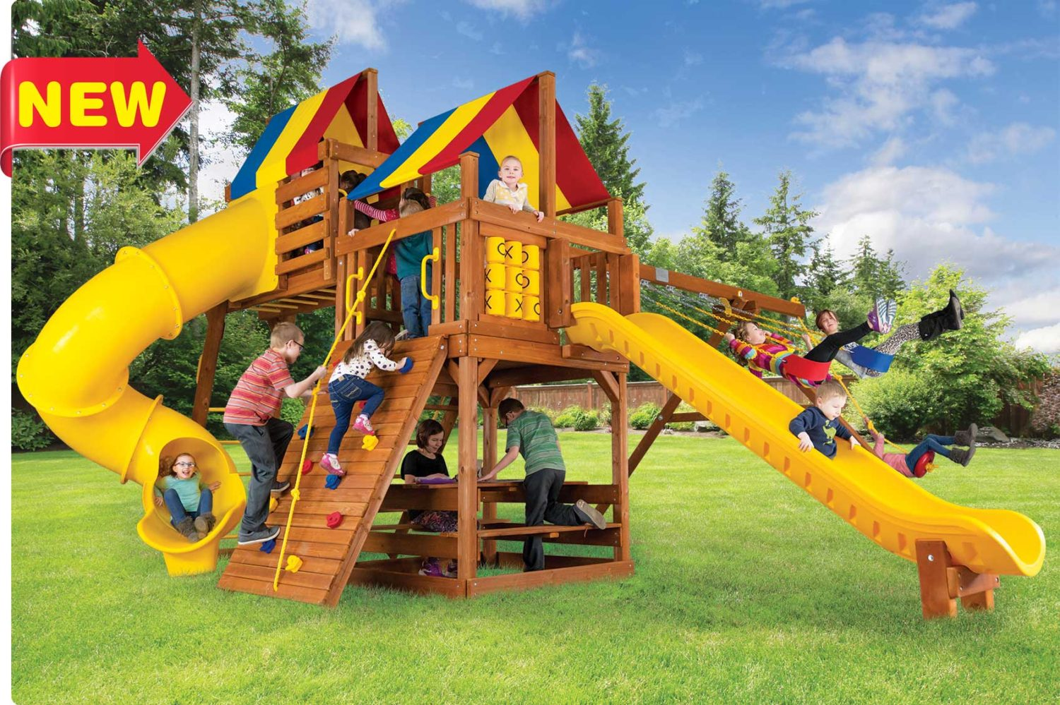 Fiesta Clubhouse Pkg V Outdoor Playsets