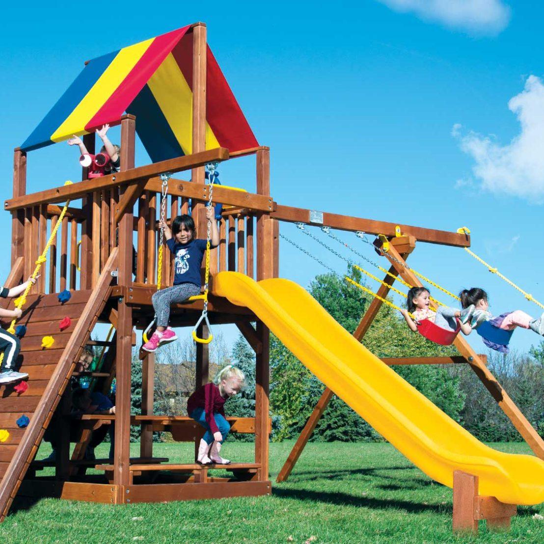 Rainbow Clubhouses Playsets Rainbow Play Systems