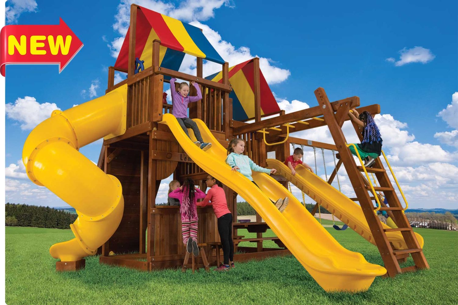 King Kong Clubhouse Pkg III Outdoor Playsets