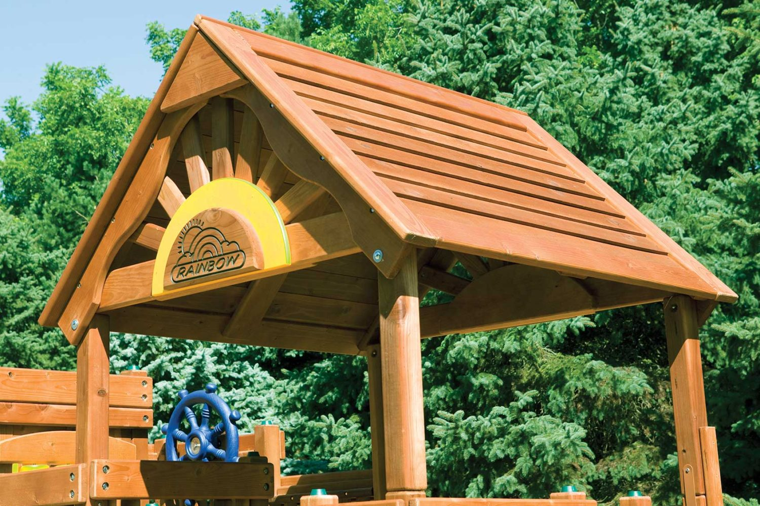 Commercial Wooden Wood roof