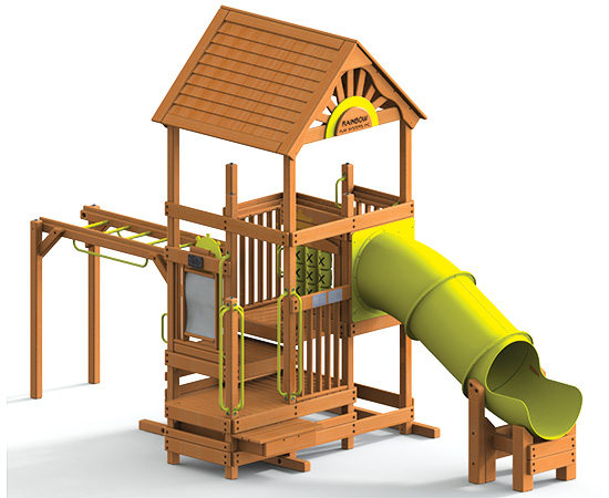 97A Rainbow Play Village Design Idea A Commercial Playground Equipment