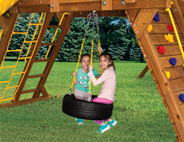 100 Castle 360 Tire Swing Tire Swing