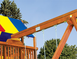 145 Swing Beam Header Rainbow Playset Accessories