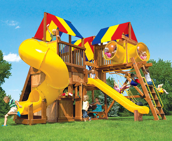 57I King Kong Clubhouse Pkg IV with All Sorts of Crazy Gizmos