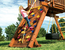 105 Castle Extended Rock Wall Rainbow Playset Accessories