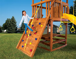 112 Sunshine Club Rock Wall Rainbow Playset Accessories