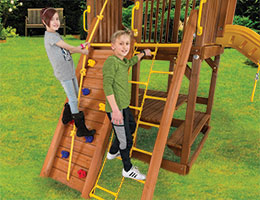 115 Club Rock Chain Ladder Rainbow Playset Accessories