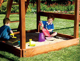 116 Club Sandbox Rainbow Playset Accessories