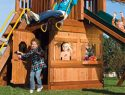 121 Club Lower Level Playhouse Rainbow Swing Set Accessories