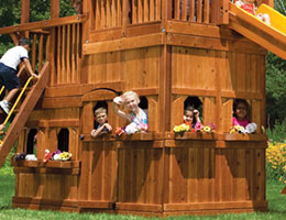 125 King Kong Club Lower Level Playhouse Rainbow Playset Accessories