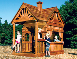 129 Deluxe Playhouse Kids Playsets