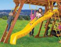 132 10.5ft Wave Slide Rainbow Swing Set Accessories