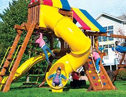 137 270 Spiral Slide Outdoor Slides