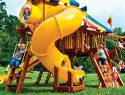138 360 Spiral Slide Rainbow Playset Slide