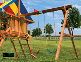 140 2 Position Swing Beam Rainbow Playset Accessories