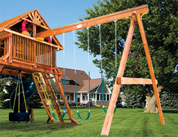 141 3 Position Inside Swing Beam Rainbow Playset Accessories