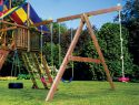 142 3 Position Swing Beam Rainbow Playset Parts