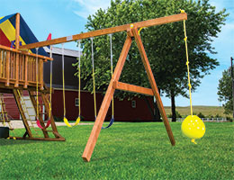 143 4 Position Swing Beam Rainbow Playset Parts
