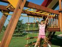 156 Dual Shimmy Bars Rainbow Swing Set Accessories