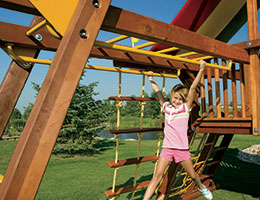156 Dual Shimmy Bars Monkey Bars For Kids