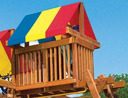 162 Rainbow Penthouse Rainbow Playset Accessories