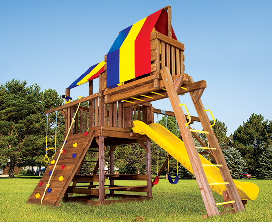 21K Fiesta Clubhouse Pkg IV Swing Set
