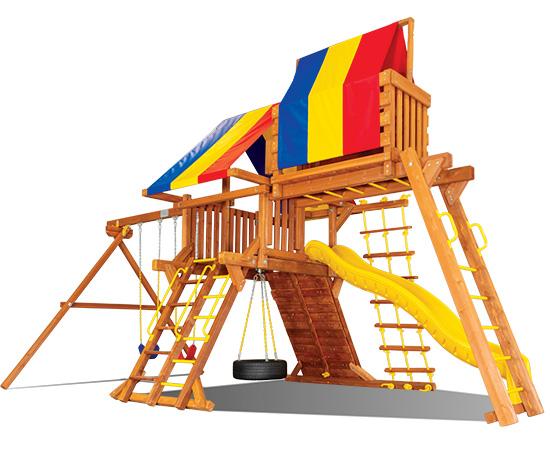 26I Carnival Castle Pkg IV Popular Swing Set