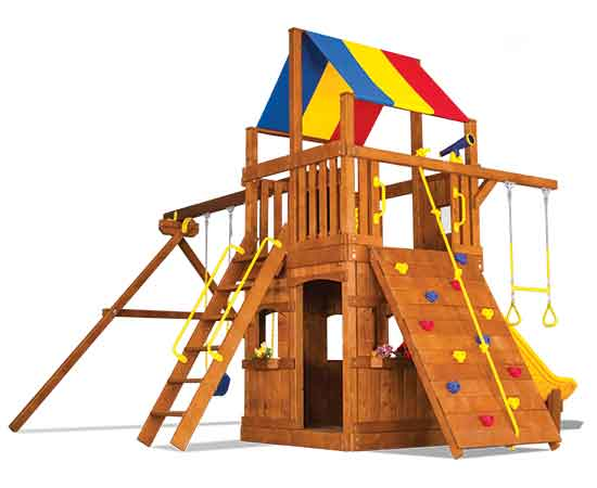 32D Carnival Clubhouse Pkg II Loaded with Playhouse