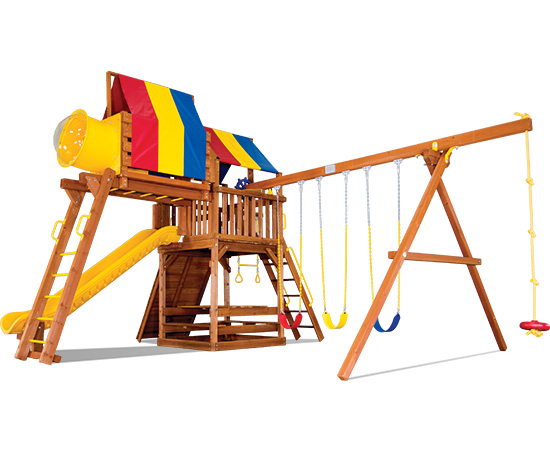33G Carnival Clubhouse Pkg IV Loaded Playset