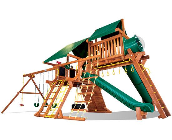 41O Sunshine Castle Pkg V with 15ft Scoop Slide
