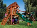 47F Sunshine Clubhouse Pkg II Loaded with Wood Roof Playset