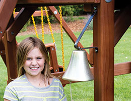 53 Bell Rainbow Swing Set Accessories