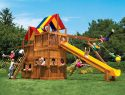 54D King Kong Clubhouse Pkg II Loaded with Lower Level Playhouse