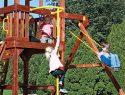 55 Firemans Pole Rainbow Swing Set Accessories