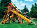 55L Rainbow Castle Pkg V with 15ft Scoop Playset