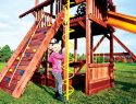 56 Corkscrew Climber Rainbow Swing Set Accessories
