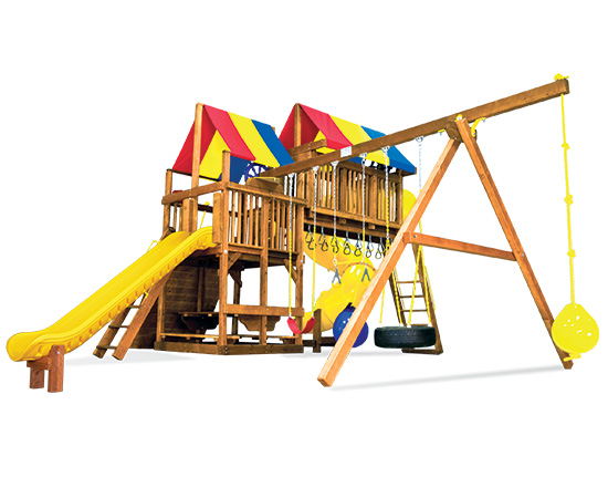 56A Rainbow Clubhouse Pkg V Magnificent Playset
