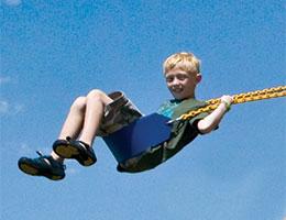 60 Sling Swing Blue Rainbow Playset Accessories