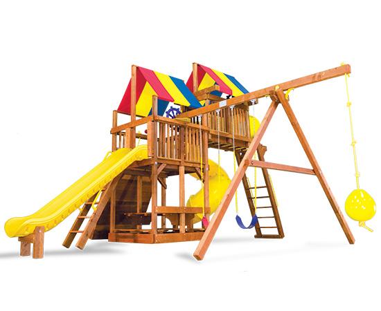 Rainbow Clubhouse Pkg V Fantastic 61p Rainbow Play Systems
