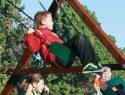 62 Sling Swing Green Rainbow Playset Accessories