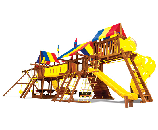 63U Rainbow Double Whammy Custom Combination Fully Loaded Swing Set