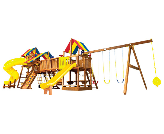 63U Rainbow Double Whammy Custom Combination Fully Loaded Playset