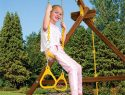 64 Trapeze Triangles Combo Rainbow Playset Accessories
